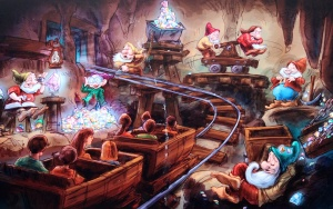 How close will the Imagineers come to their concept art...