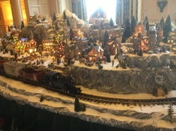 Chirstmas Trains in Disney
