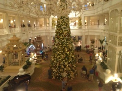 The Grand Floridian at Christmas