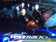 Post Race Victory Lap on Test Track