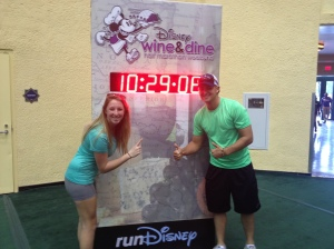 Countdown to the race at the Expo!