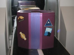 This luggage sticker pays homage to Mesa Verde in the fan favorite Epcot Attraction Horizons