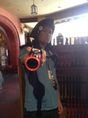 Me getting in the Pirate spirit...Yo Ho Yo Ho A Pirates life for me!!!!