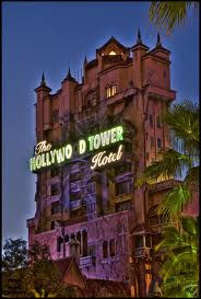 Visit the Hollywood Tower Hotel and board a maintenance service elevator that takes you directly to...The Twilight Zone