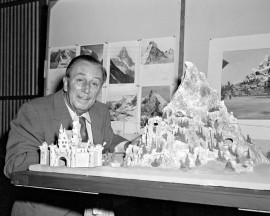 "After the success of his Matterhorn Bobsleds, Walt Disney turned his attention to a ""Space Voyage"""
