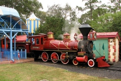 No trip to Disney World is complete without kicking back on the Walt Disney World Railroad for at least one trip around the Magic Kingdom