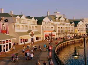 Disney's Boardwalk is one of the most well themed areas anywhere on Disney property