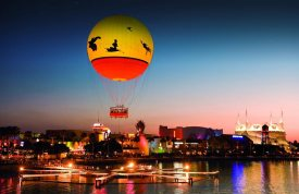 Downtown Disney is a bustling marketplace filled with well themed shops, restaurants, and activities