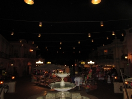 When we arrived the Mexico Pavilion was completely empty!!