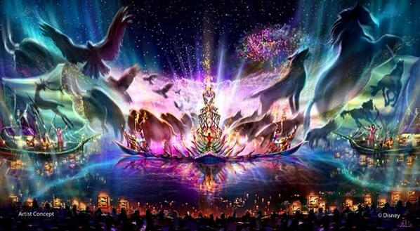 Concept Art for Rivers of Light