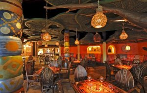Sanaa has one of the coolest atmospheres in Disney and great African food to match