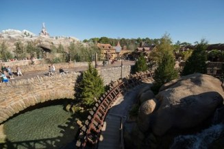 The best part of the entire ride was without a doubt the view of New Fantasyland