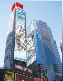 Everest in the City was a massive campaign in New York to build anticipation for the attraction