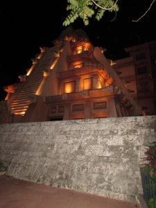 The pyramid in Mexico that houses San Angel Inn Restaurante