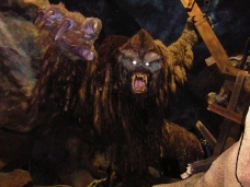 The animatronic yeti is one of if not the most amazing animatronic ever built