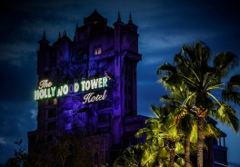 Much like Haunted Mansion, Tower of Terror is just meant to be ridden at night