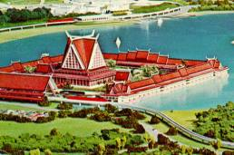 The Asian Resort was full go where the Grand Floridian sits today but finances just didn't allow Disney to build another resort at the time