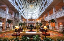 The lobby shows you everything that the Grand Floridian is all about the second you step foot inside
