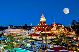The Hotel Del Coronado outside of San Diego, California influenced the Grand Floridian more than any other hotel and you can see why!