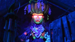 Make sure you appease the Tiki gods at Trader Sam's Grog Grotto...Uh Oa Uh Oa Oa!!